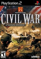 History Channel: Civil War - A Nation Divided - Playstation 2 Game Complete