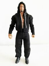 "NOX-ST-L+PT: Fabric Hoodie & Pants for 7"" Mattel Elite Wrestling WWE Figure"