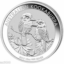 2013 $10 AUSTRALIA KOOKABURRA 10 Oz SILVER COIN 10 DOLLARS ORIGINAL PERTH Mint !