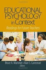 Educational Psychology in Context: Readings for Future Teachers