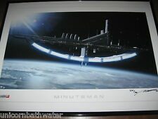 Mass Effect 2 3 Lithograph Print MINUTEMAN SIGNED NUMBERED #275/300 ME