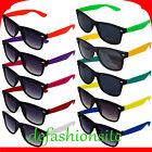 *NEU* Sonnenbrille 80er Nerd Style Wayfarer Brille Retro Atzenbrille Farbwahl