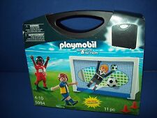 PLAYMOBIL 5994 Carry Case Soccer Playset ~ NEW Sealed