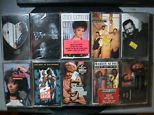 LOT OF 10 NEW SEALED SOUL FUNK CASSETTE TAPE COLLECTION O'JAYS WHISPERS SHANICE