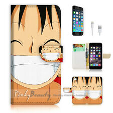 iPhone 7 (4.7') Flip Wallet Case Cover P1764 One Piece