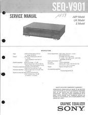 Sony Original Service Manual  für SEQ-V901