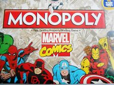 MARVEL COMICS 2016 EDITION MONOPOLY BOARD GAME