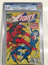 X-Force #11 6/92 CGC 9.4 NM 1st Real Domino Marvel Deadpool Appearance