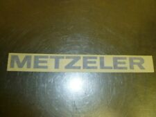 E569 METZLER TIRES RACING VINTAGE MOTOCROSS SUPERCROSS ATV BLUE LARGE DECAL