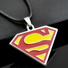 Cool Superman logo Pendant Stainless Steel Necklace ST150