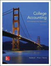 NEW - College Accounting (A Contemporary Approach)