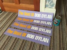 The Best Of Bob Dylan 1997 Music Shop Display