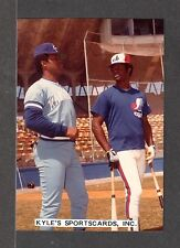 Warren Cromartie  EXPOS UNSIGNED 3-3/8 x 4-7/8 COLOR ORIGINAL SNAPSHOT PHOTO #17