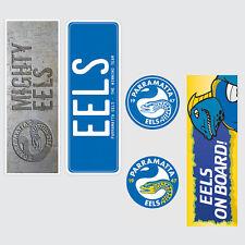 NRL Parramatta Eels Set of 5 UV iTag Bumper Decals