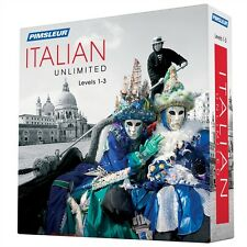 NEW Pimsleur Unlimited ITALIAN Language Level 1 2 3 Course 90 Lessons