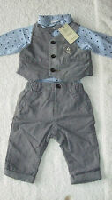 Next 3-6 months 4pc OCCASION SUIT SET *BNWT* New Outfit Wedding Formal Baby Boys