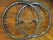 MAVIC CLASSIC PRO CLINCHER RIMS SHIMANO 10 SPEED HUBS WHEEL SET VREDESTEIN