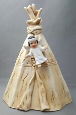 Tee Pee Sagebrush Kids Nativity Crèche Perillo Native Vintage 1985