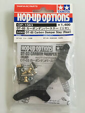 TAMIYA 54563 dt-03 CARBONIO DAMPER STAY (posteriore) (dt03/dt03t) Nuovo con imballo