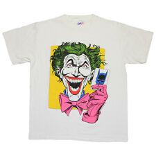 The Joker Shirt Vintage tshirt 1988 DC Comics Cartoon Villain tee 1980s Batman