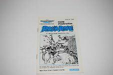 ROC 'N ROPE Colecovision Game Instruction Manual ONLY CANADA French/English