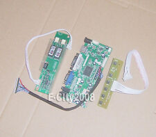 HDMI+DVI+VGA+AUDIO LCD Controller Board kit For 18.4 LTN184HT03 LTN184HT01