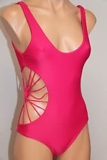 NWT Cami and Jax Savannah One Peace Maillot Swimsuit size M Hibiscus