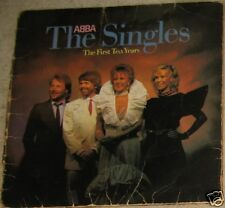 "ABBA The Singles The First Ten Years 12"" 1982 Vinyl Record"