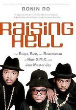 Raising Hell Run D.M.C & Jam Master Jay Hardcover Book! Ronin Ro dmc cd lp info!