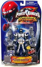"Power Rangers Operation Overdrive Mission 5"" Black Ranger New 2007 Factory Seal"
