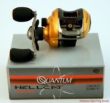 QUANTUM HELLCAT HCBC100 6.3:1 10+1 BEARING RIGHT HAND BAITCAST REEL BOXED