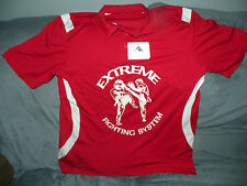 Augusta Sportswear red polo short sleeve, NWT, Large, extreme fighting system