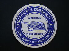 NORTH RYDE RSL COMMUNITY CLUB YOUR COMPLETE LEISRE CENTRE 8887588 COASTER