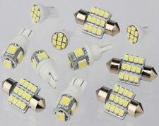 11PCS White LED Lights Interior Package for T10 & 31mm Map Dome For Dodge