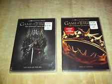 GAME OF THRONES DVD Set!~The Complete 1st. & 2nd. Seasons!~10 Discs!~$33.98!