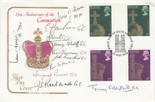 Cotswold FDC 25th Anniv of the Coronation Signed 11