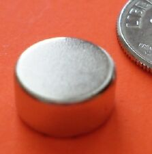 10 STRONG Neodymium N42 (Neo, NdFeB, NIB) Disc Magnets 3/8 x 1/8 for Reborn Bows