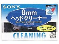 Japanese JAPAN SONY V8-25CLD Hi8/Digital8/8mm Video Head Cleaning Cassette F/S