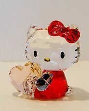 SWAROVSKI  HELLO KITTY  PINK HEART , #5135886   BNIB  GREAT GIFT 4 ANY OCCASION