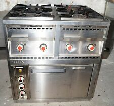 GGX vetroceramica elettrico forno ristoranti FORNELLO 4 fiamme tavola calda Cottura