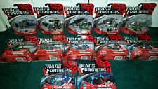 Scout Class Transformers Movie 1 Warpath Arcee Air Raid Armorhide Storm Surge +