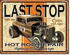 Last Stop Hot Rod Repair metal sign  (de)