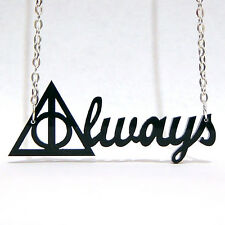Colgante ALWAYS Harry Potter Collar Las Reliquias de la Muerte Deathly Hallows