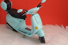 Vintage Vespa Motor Scooter for Barbie Doll Figure Powder Blue