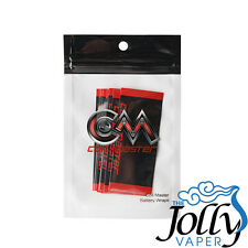 Coil Master Battery Wraps Pack of 10 18650 Heat Shrink PVC Pre Cut