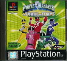 POWER RANGERS LA FORCE DU TEMPS    - PS1 & PS2 COMPLET