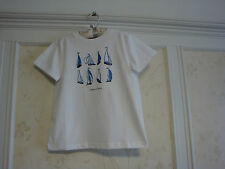 NWT Janie And Jack  Catalina Cruise Boys  Sailboat Tee Top  6  White