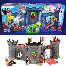New - TAKE-ALONG CASTLE Portable Play Set PLAYMOBIL 5803 KNIGHTS Catapult HORSE