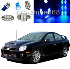 12V Blue LED Lights Interior Package Kit For Dodge Neon SRT4 2003 2005