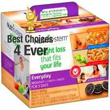 Nutrisystem Everyday 5 Day Weight Loss Kit, Replacement Meals, Diet